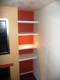 Bedroom Shelving